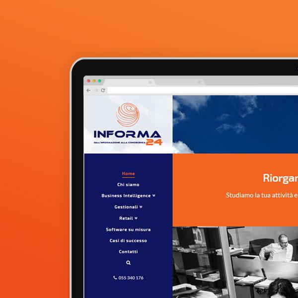 Informa24 · Webdesign