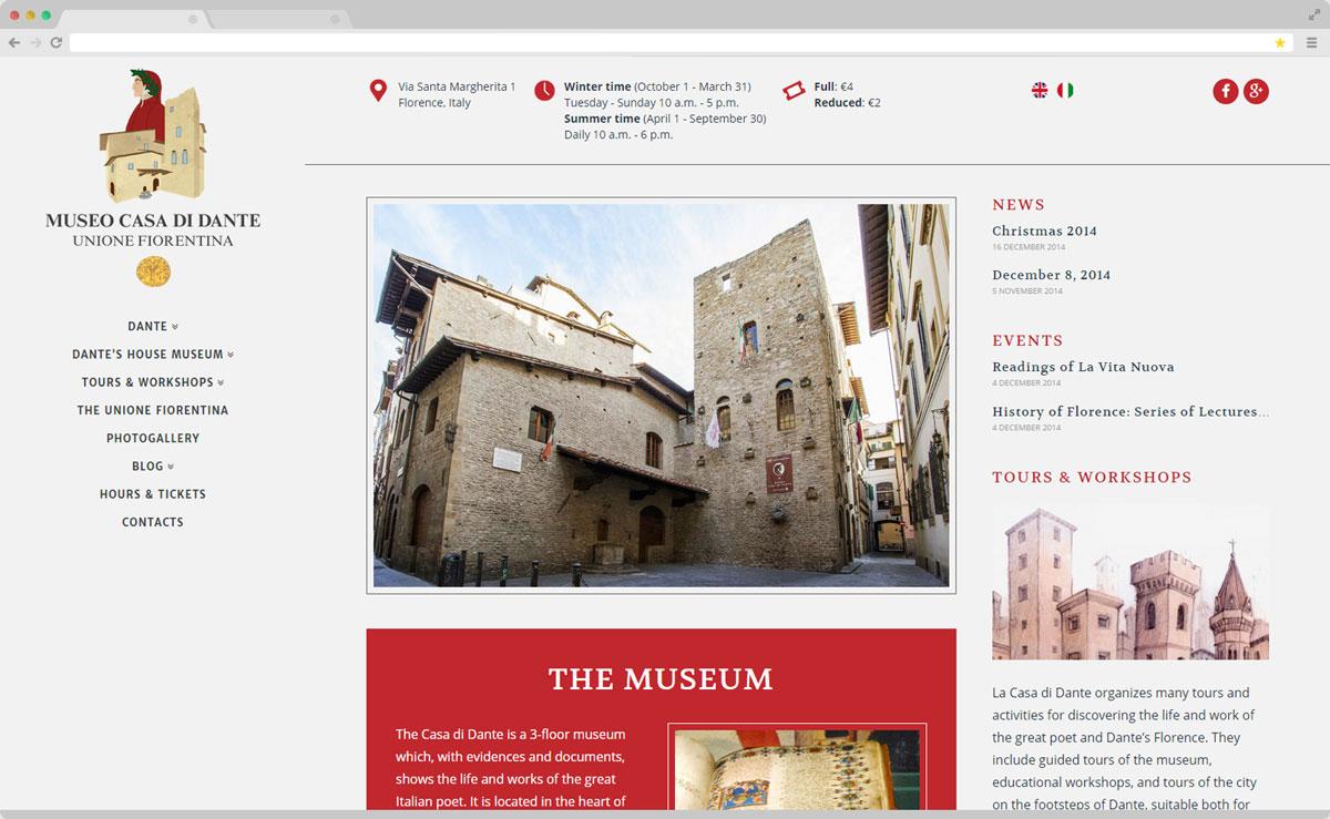 Museo Casa di Dante · Museum Website